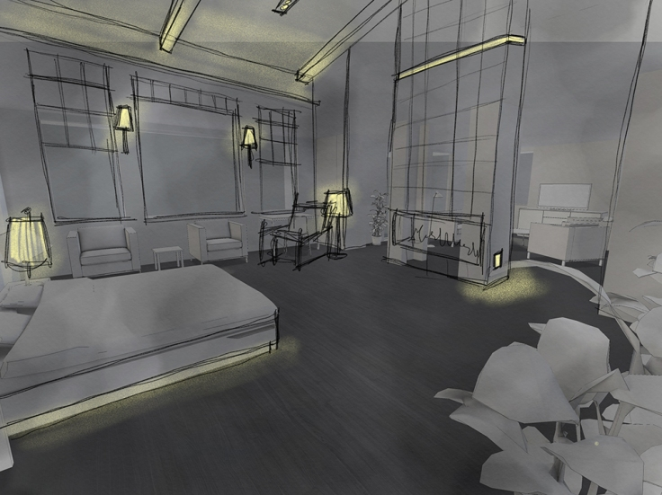 BedroomSketch